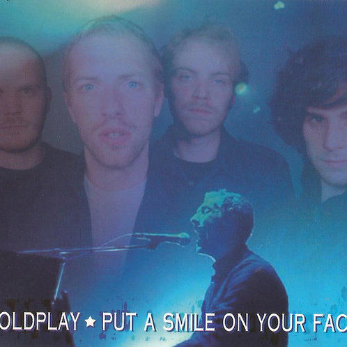 COLDPLAY - PUT A SMILE ON YOUR FACE CD