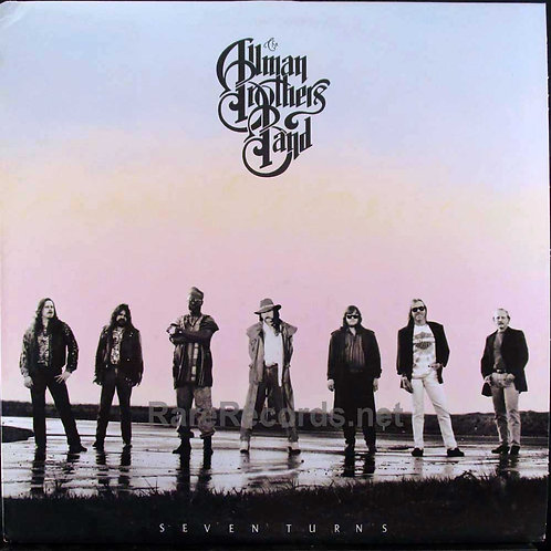 THE ALLMAN BROTHERS BAND - SEVEN TURNS SCARCE LP