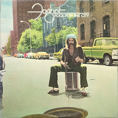 FOGHAT - FOOL FOR THE CITY LP