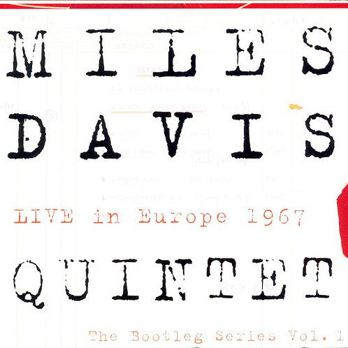 MILES DAVIS - QUINTET: LIVE IN EUROPE 1967 TRIPLO CD+DVD