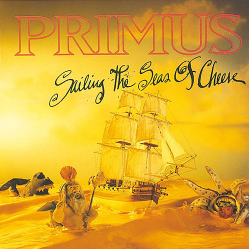 PRIMUS - SAILING THE SEAS OF CHEESE CD