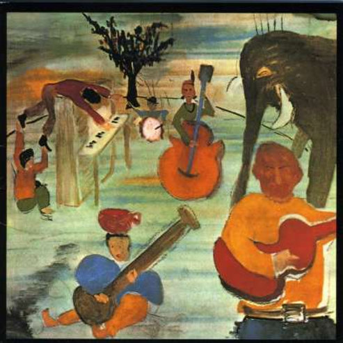 THE BAND - MUSIC FROM BIG PINK LP