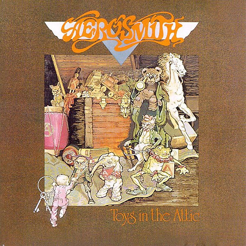 AEROSMITH - TOYS IN THE ATTIC CD