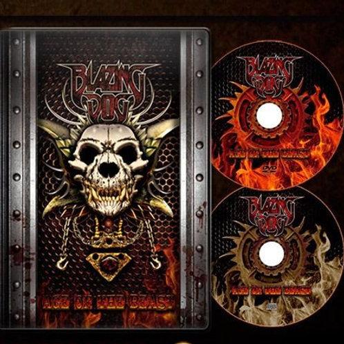 BLAZING DOG - AGE OF THE BEAST DVD