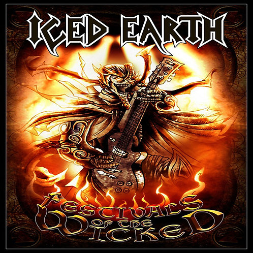 ICED EARTH - FESTIVALS OF THE WICKED CD