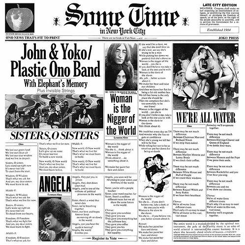 JOHN & YOKO PLASTIC ONO BAND - WITH ELEPHANT´S MEMORY CD