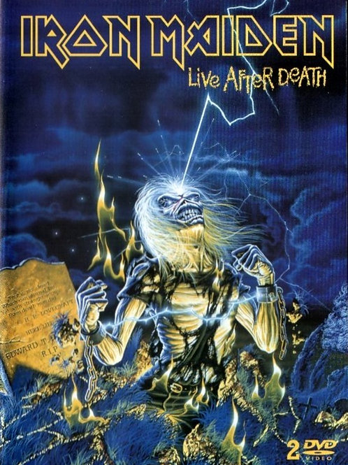 IRON MAIDEN - LIVE AFTER DEATH DUPLO CD