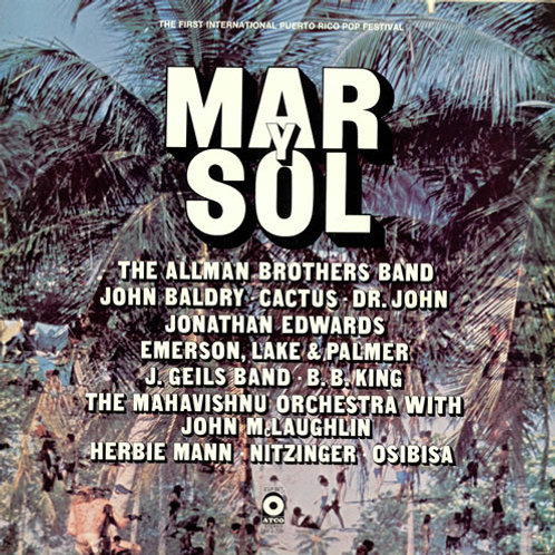 THE ALLMAN BROTHERS BAND - MAR Y SOL DUPLO LP