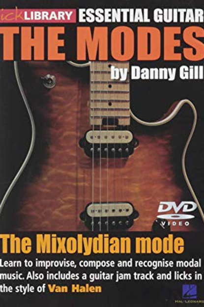 TICK LIBRARY ESSENTIAL GUITAR - THE MODES DVD