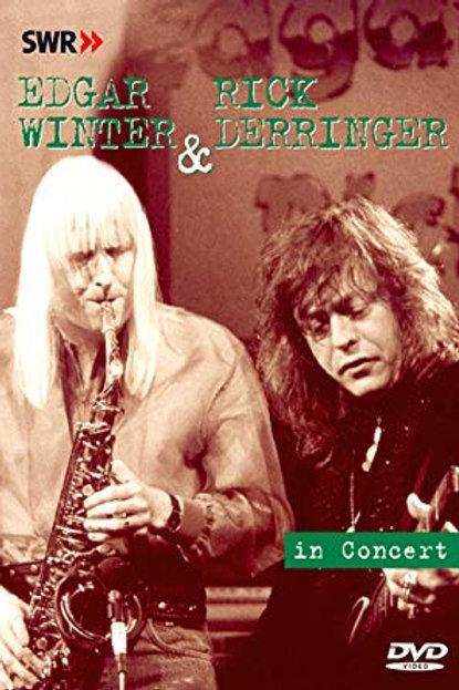 EDGAR WINTER & RICK DERRINGER - IN CONCERT DVD