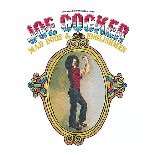 JOE COCKER - MAD DOGS & ENGLISHMEN DUPLO LP