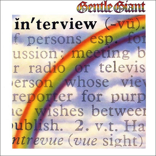 GENTLE GIANT - IN´ TERVIEW LP