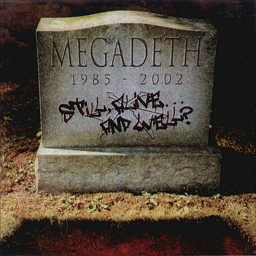 MEGADETH - STILL ALIVE AND WELL CD