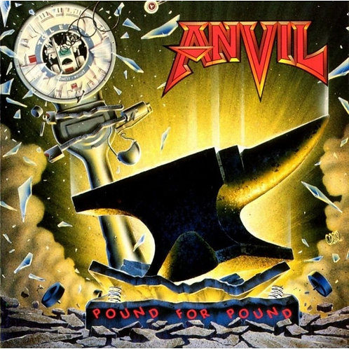 ANVIL - POUND FOR POUND CD