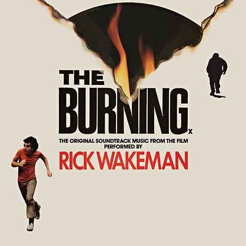 RICK WAKEMAN - THE BURNING LP
