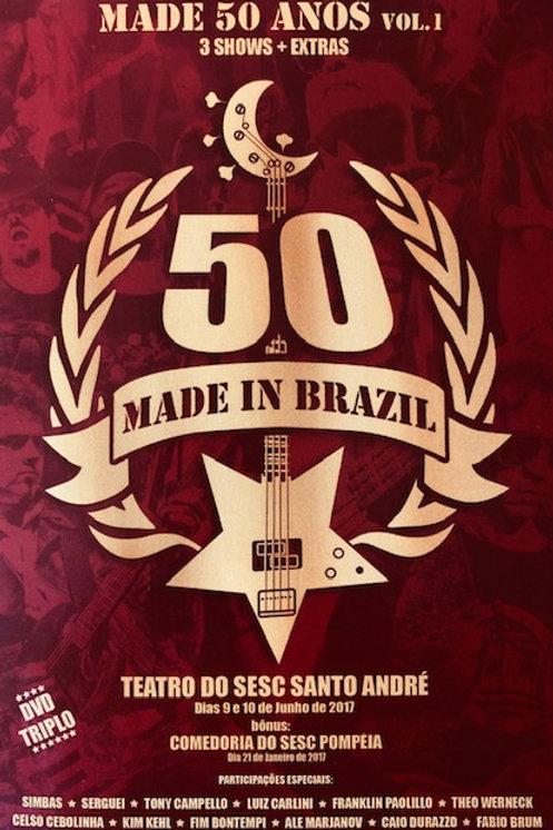 MADE IN BRAZIL - 50 ANOS VOL.1 DVD