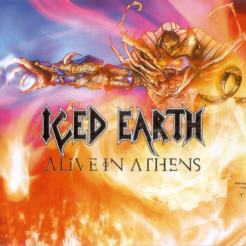 ICED EARTH - ALIVE IN ATHENS DISCO 3 CD