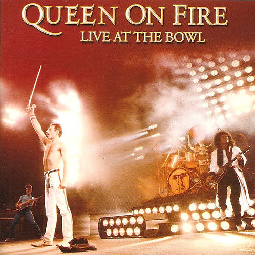 QUEEN ON FIRE - LIVE AT THE BOWL CD