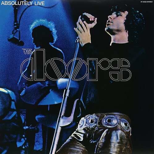 THE DOORS - ABSOLUTELY LIVE DUPLO LP