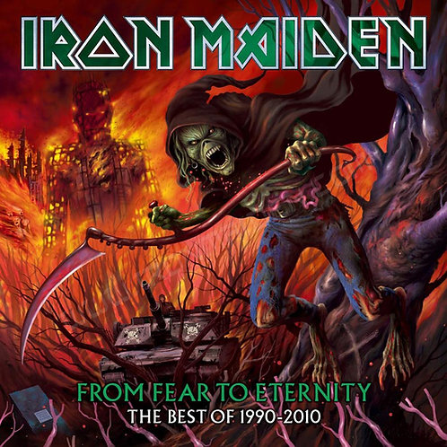 IRON MAIDEN - FROM FEAR TO ETERNITY CD