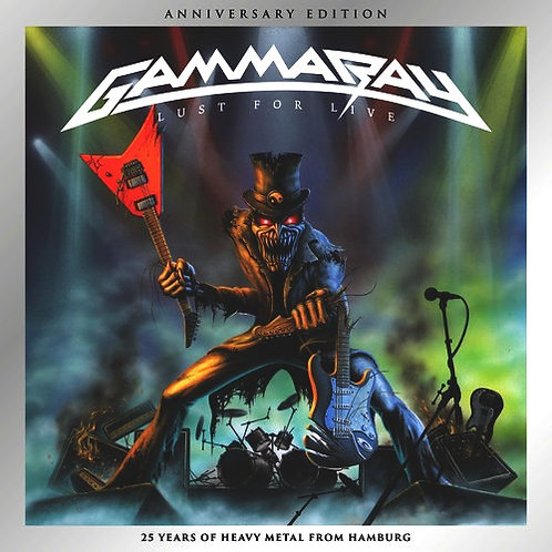 GAMMA RAY - LUST FOR LIVE CD