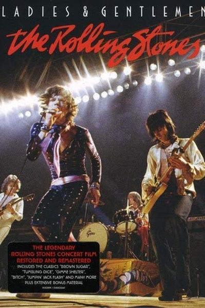 THE ROLLING STONES - LADIES AND GENTLEMEN DVD