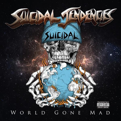 SUICIDAL TENTACLES - WORLD GONE MAD CD