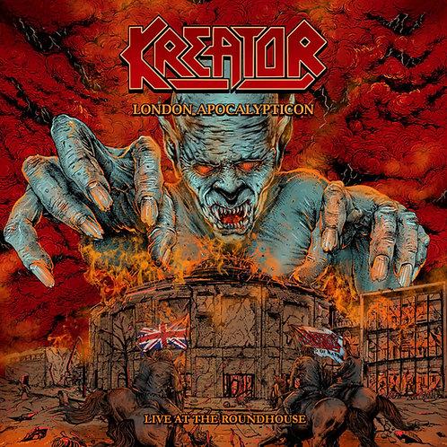 KREATOR - LONDON APOCALYPTICON CD
