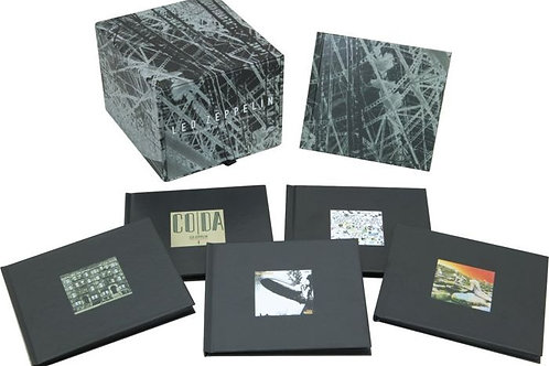 LED ZEPPELIN - THE COMPLETE STUDIO RECORDINGS 10-CD BOXED SET