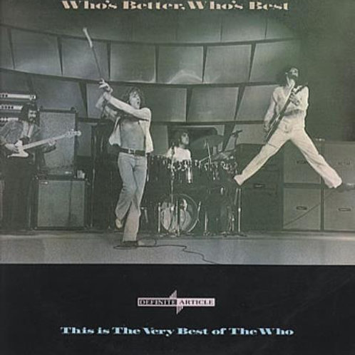 THE WHO - WHO´S BETTER, WHO´S BEST LP