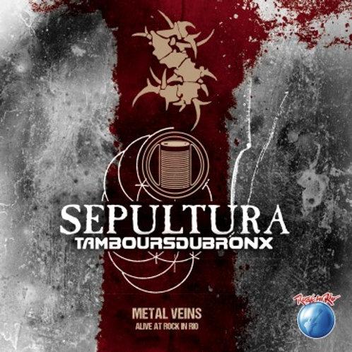 SEPULTURA - TAMBOURSDUBRONX CD