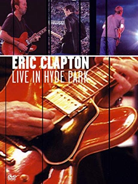ERIC CLAPTON - LIVE INHYDE PARK DVD