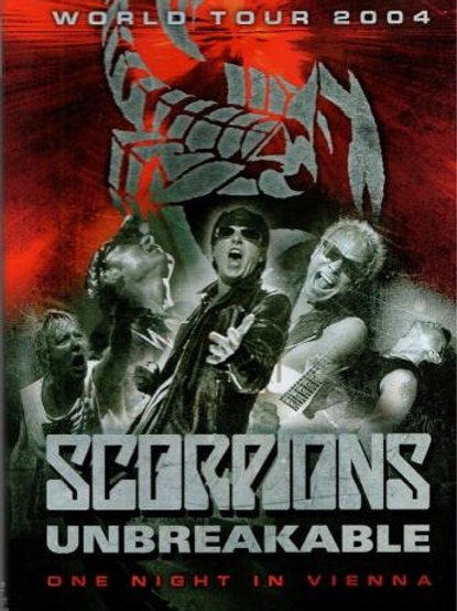 SCORPIONS - UNBREAKABLE ONE NIGHT IN VIENNA DVD