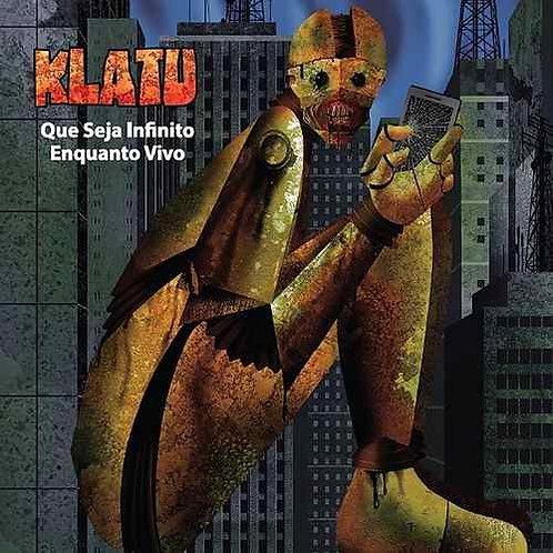 KLATU - QUE SEJA INFINITO ENQUANTO VIVO CD