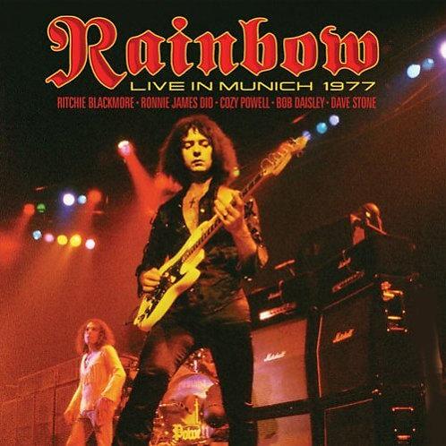 RAINBOW - LIVE IN MUNICH 1977 DUPLO CD DIGIPACK