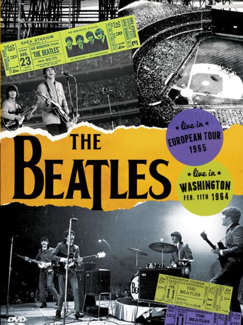 THE BEATLES - EUROPEAN TOUR 1965 DVD