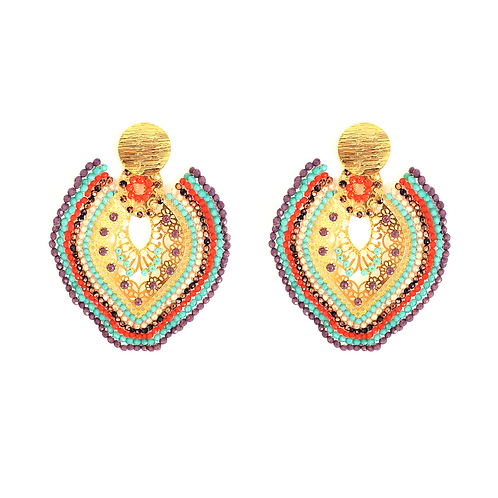 Murano Bohemian Earrings