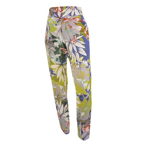 Koi Flower Crepe Pants