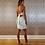 Thumbnail: Green Print Sequins Short Dress