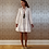 Thumbnail: White Cotton Summer Short Dress