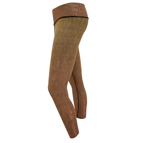 Gold Neoprene Leggins