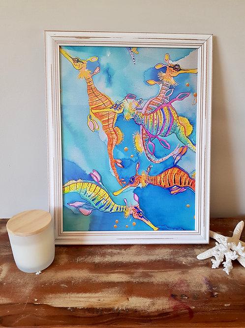 Bremer Bay Framed Print