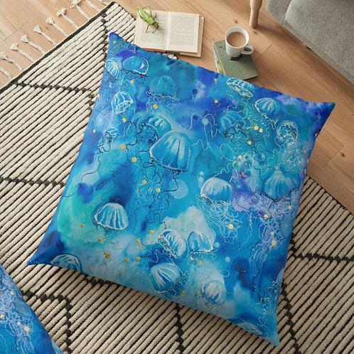 Polynesian Tides Throw Cushion