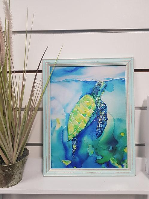 Mindil Beach Rustic Framed Print