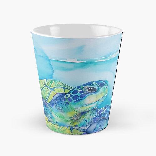 Turquoise Turtle Tall Mug