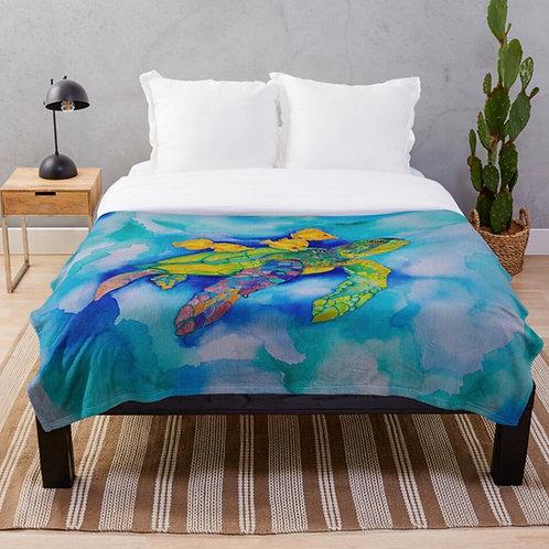 Bermagui Throw Blanket