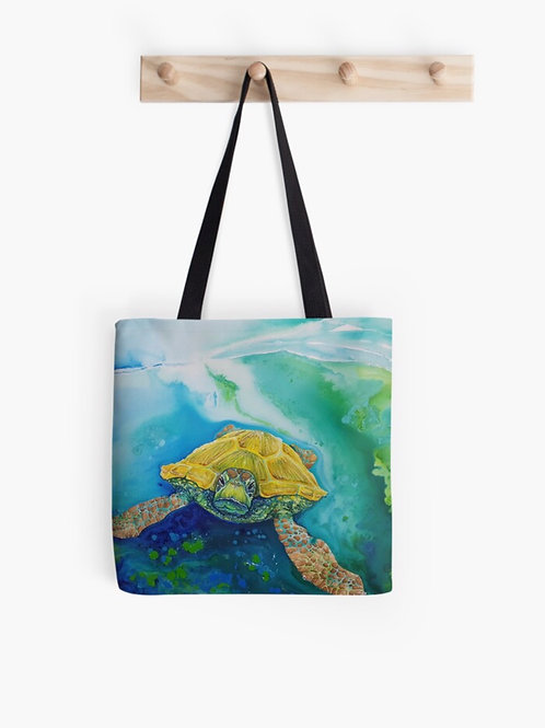 Emerald Beach Graphic Tote