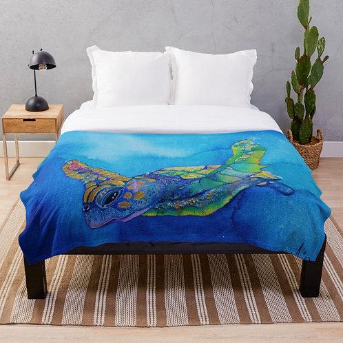 Ocean Flight Throw Blanket