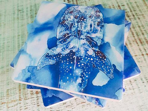 Sapphire Coast Ceramic Coasters