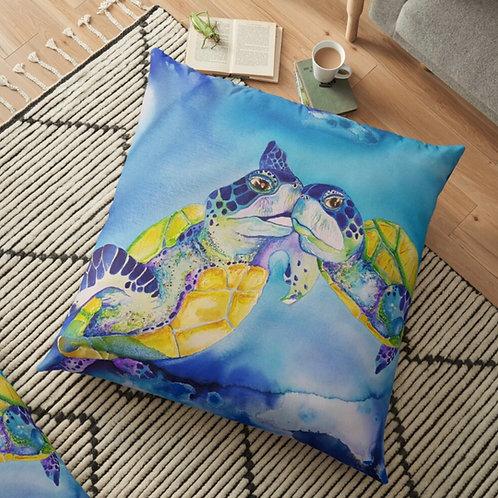 Sunrise Beach Throw Cushion